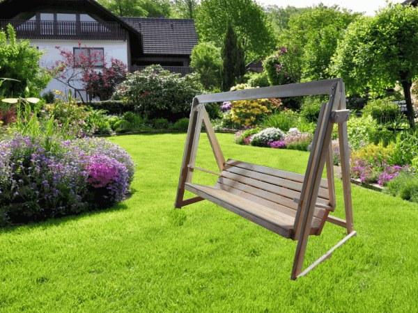 Садовые, дачные, деревянные парковые качели, скамейка для веранды, террасы, беседки