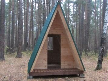 Домик для кемпинга, туристического лагеря, базы отдыха