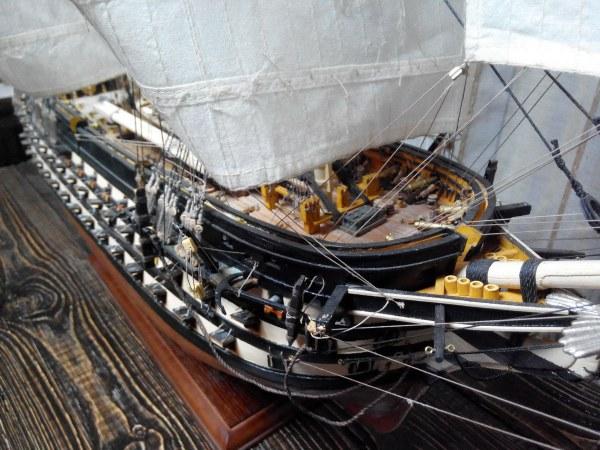 Линейный парусный корабль «Двенадцать апостолов». Точная копия, модель музейного качества из дерева