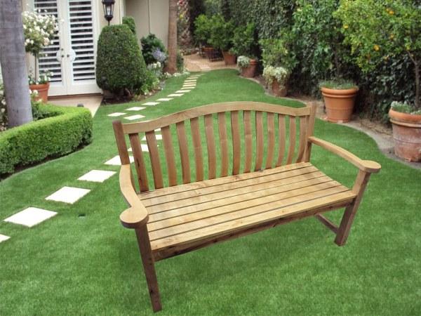 Дачная, садовая, парковая скамейка из берёзы