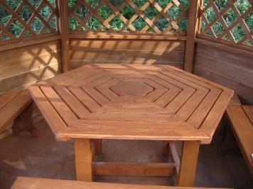 Стол и скамейки садовые, дачные