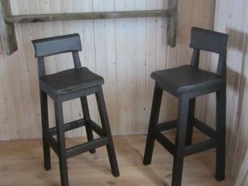 Купить стул для бара из натурального дерева – массива сосны